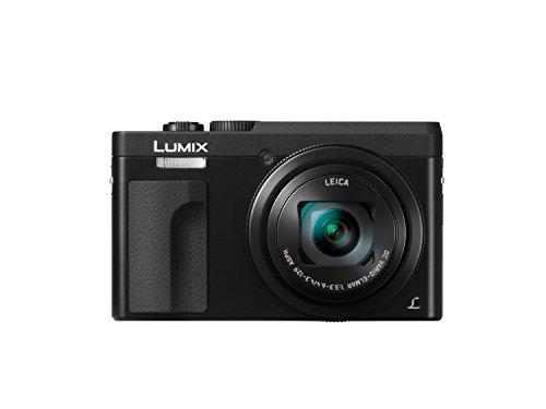 Panasonic DC-TZ91EG-K LUMIX High-End Reisezoom Kamera (Leica Objektiv, 30x opt. Zoom, 24mm Weitwinkel, Sucher, 4K), Schwarz