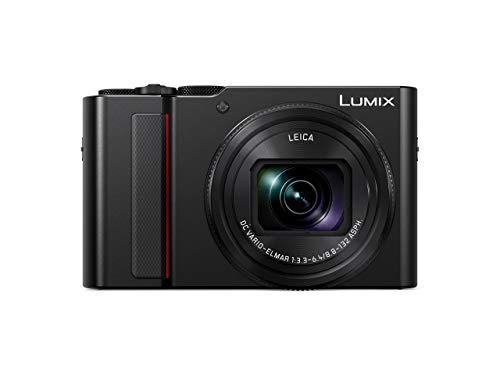 Panasonic LUMIX DC-TZ202EG-K Travelzoom Kamera (1-Zoll Sensor, 15x opt. Zoom, Leica Objektiv, Sucher, 4K, schwarz)