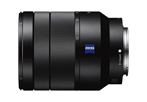 Sony SEL-2470Z Zeiss Zoom-Objektiv (24-70 mm, F4, Vollformat, geeignet für A7, A6000, A5100, A5000 und Nex Serien, E-Mount) schwarz