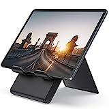 Lamicall Tablet Ständer Verstellbare, Tablet Stand - Faltbarer Halter, Halterung, Dock für 2020 iPad Pro 9.7, 10.2, 10.5, iPad Air 2 3 4, iPad Mini 2 3 4, Samsung Tab, andere Tablet 5'-13' - Schwarz