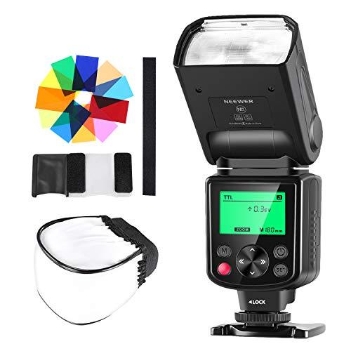 """Neewer NW-670 TTL """"Speedlite"""" Blitzgerät mit Streuscheibe und 12 Farbfiltern, für Verschiedene Canon-Kameras"""