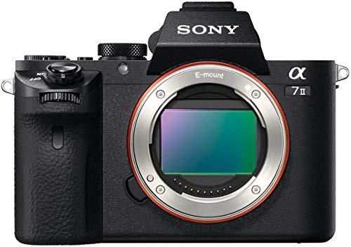 Sony Alpha 7 II | Spiegellose Vollformat-Kamera ( 24,3 Megapixel, schneller Hybrid-Autofokus, optische 5-Achsen-Bildstabilisierung im Gehäuse, AXAVC S-Format-Aufzeichnung)