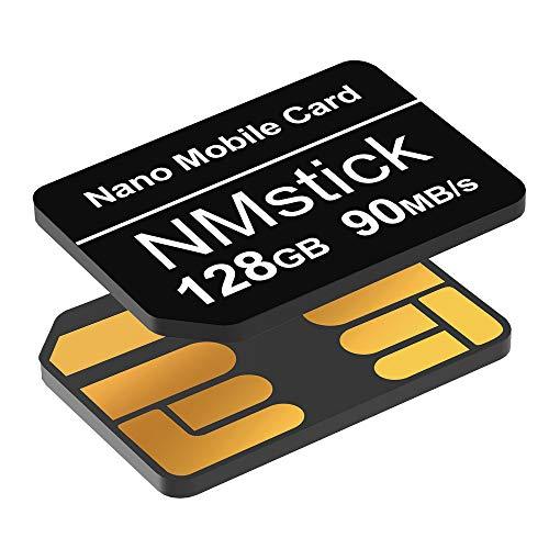 YAOMAISI NM-Speicherkarte 128GB 90MB/S Nano-Speicherkarte Nano-Karte Nur für Huawei P30/P30pro/P40-Serie/Mate20-Serie/Mate30-Serie/Mate40/Mate40pro Nano 128 GB-Karte geeignet