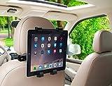 MMOBIEL Tablet Halterung Auto Kopfstützenhalterung Headrest Mount rotierend kompatibel mit u.a. iPad/Samsung Tab
