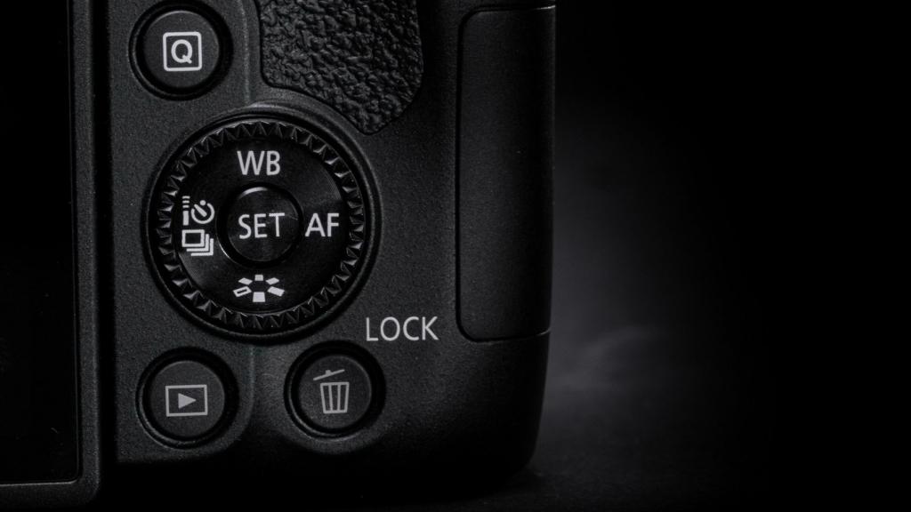 Canon EOS 850D Bedienfeld