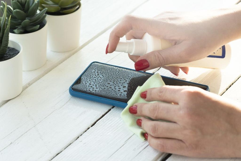 Handy Desinfektion - So schützt Ihr euch vor Viren und Bakterien